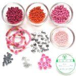 Armbandpakket voor Kids, Roze, Roze, 1 st