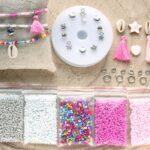DIY startpakket armbandjes (2mm kraal), Zilver, multicolor, roze