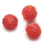 Rocailleballen, 20mm, Rood, 10 st