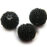 Rocailleballen, 20mm, Zwart, 10 st
