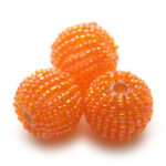 Rocailleballen, 20mm, Oranje, 10 st