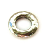 Ring, metal coated, 43mm, 10 st
