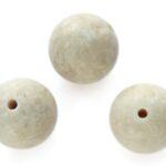 Ronde Riverstone DQ kraal,  8mm, 47 st