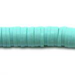 Katsuki kralen,  6mm, Turquoise, 390 st