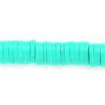 Katsuki kralen,  6mm, Donker turquoise, 390 st