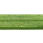Ibiza elastiek, effen, 15mm, Olijfgroen, 1 m