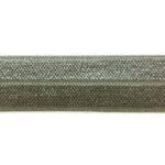 Ibiza elastiek, effen, 15mm, Donkergrijs, 1 m