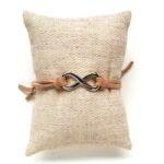 Armbandje, Infinity, Zand, 1 st