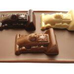 Rocco's racereep, Bruin, 3 auto's op chocoladereep