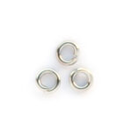 Montage-ring,  3 mm, Zilverkleurig, 100 st