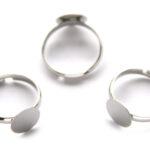Verstelbare ringbasis, 10mm, Metaal, 10 st