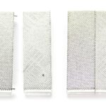 Brede rechthoekige magneetsluiting, 39,5×25,5mm, Zilver, 1 st
