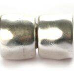 Magneetslot DQ, 18mm, Antiek zilver, 1 st