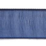 Organza lint, 10mm, Donkerblauw, rol van 45 meter, 1 st