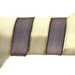 Handgeverfd zijden armbandlint, 2,5x85cm, Jungle, 1 st