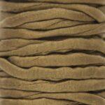 Habotai zijden lint, DQ, 5mm, dubbel, Olijfgroen, 1 m