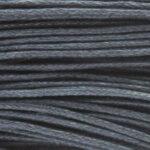 Waxkoord, 0.8 mm dik, bundel 60m, Zwart