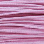 Waxkoord, 0.8 mm dik, bundel 60m, roze
