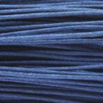 Waxkoord, 0.8 mm dik, bundel 60m, Donkerblauw