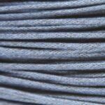Waxkoord, 2 mm dik, bundel 5m, Donkerblauw