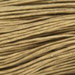 Waxkoord, 0.7 mm dik, bundel 60m, Olijf