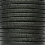 Eco Nappa Leer, DQ, 6mm, Zwarte snake skin, 1 m