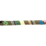 Aztec koord,  6mm, Beige/multi colour, 1 m