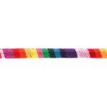 Aztec koord,  6mm, Rainbow, 1 m