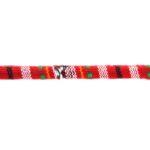 Aztec koord,  6mm, Rood/multi colour, 1 m