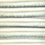 Eco Nappa Leer,  4mm, Zilver, 1 m