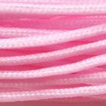 Macrame koord, nylon,  0,8mm, Roze, 10 m