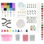 DIY Kinderfeestje 8 personen – Complete kralen set voor armbandjes – 3mm Rocailles – 17 kleuren + heel veel extra artikelen